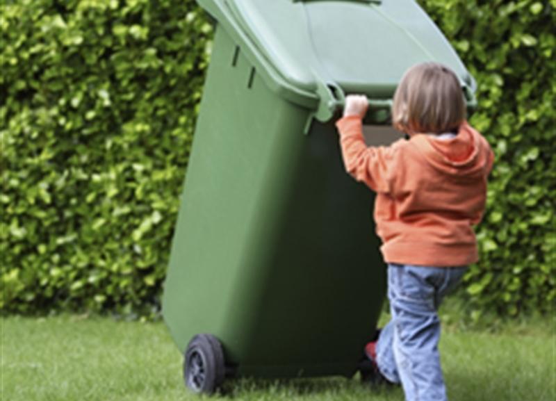 Trash Bin Kid